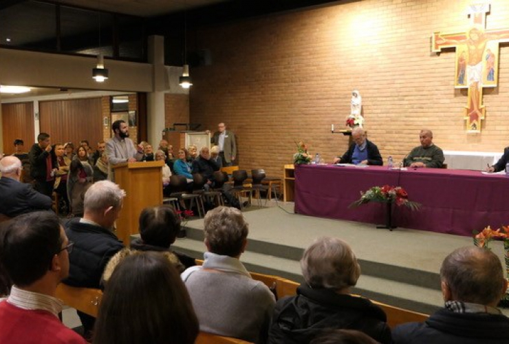 Rencontre interreligieuse à Braine l'Alleud